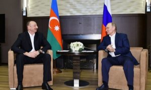 Azerbaijani, Russian presidents discuss Nagorno-Karabakh conflict