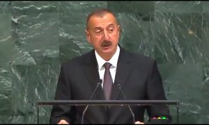 Ilham Aliyev at UN calls for sanctions on