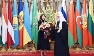 First VP Mehriban Aliyeva receives Order of St. Princess Olga, Equal of Apostles (PHOTO)
