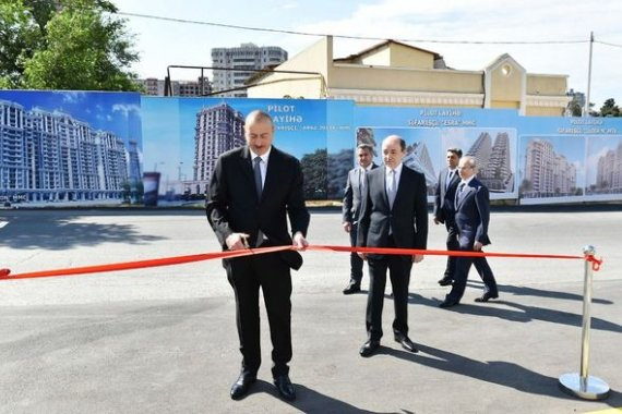 President Ilham Aliyev inaugurates new administrative building of Narimanov District Court