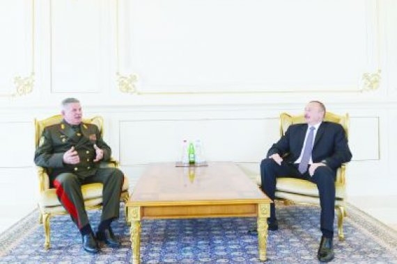 President Ilham Aliyev received chairman of State Border Committee of Belarus
