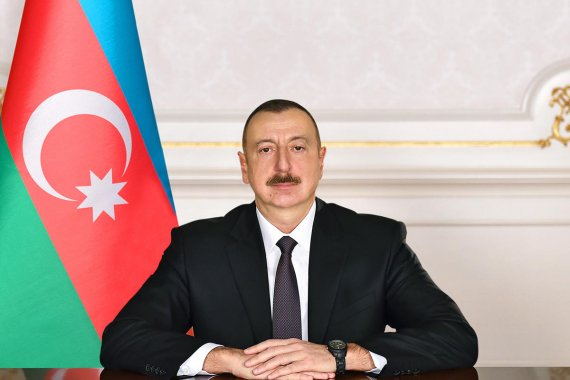 Azerbaijan's ruling party nominates Ilham Aliyev for upcoming presidential election