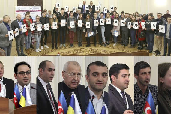 First Azerbaijan-Ukraine Youth Forum kicks off in Kiev - PHOTO
